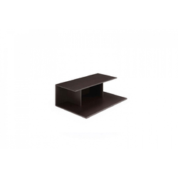 Metaphora Complementary Table 54X88 H31 Matt Coffee  Natuzzi Coffee Tables