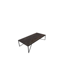 Titano 140X70 H35 Coffee/Marble Dark Emperador  Natuzzi Coffee Tables
