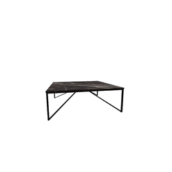 Titano 100X100 H35 Coffee/Marble Dark Emperador  Natuzzi Coffee Tables