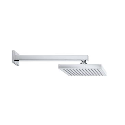 Shower head wall with rain Newform D-sign