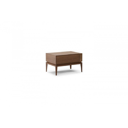 Munari Bedside Table Handle Sx 65X45 H41 Natuzzi Night & Day Furniture