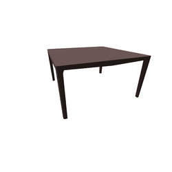 New Saturno Dining Table140X140 H74 Smoked Oak Natuzzi Night & Day Furniture