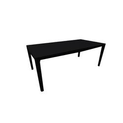 New Saturno Dining Table 200X100H74 Oak Grey Glass White Natuzzi Night & Day Furniture