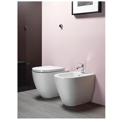 Wc with wall outlet GSI Ceramica Pura