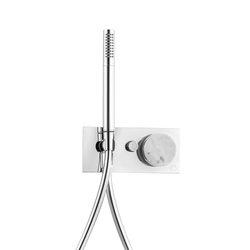 MR313 Two ways built-in shower with hand shower IB Rubinetti Marmo