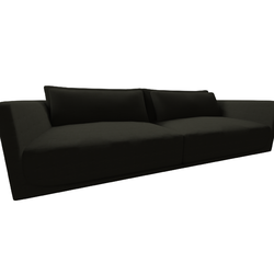 Long Beach Sofa 2911 vers.009  Natuzzi Long Beach