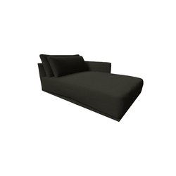 Long Beach Chaise Longue 2911 vers.049  Natuzzi Long Beach