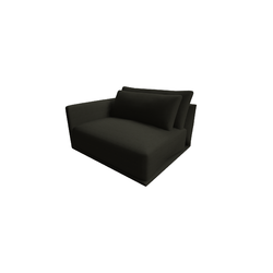 Long Beach Armchair 2911 vers.272  Natuzzi Long Beach