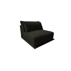 Long Beach Armchair 2911 vers.291  Natuzzi Long Beach