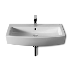 Hall Suspended porcelain sink or counter top Roca Hall