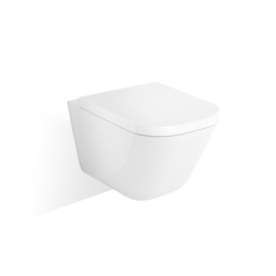 The Gap Vitreous china wall-hung Rimless WC Roca The Gap