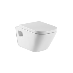 The Gap Vitreous china wall-hung WC with horizontal outlet Roca The Gap