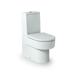 """Happening  attached to wall toilet with dual output (tank and cover not included)"" Roca Happening"