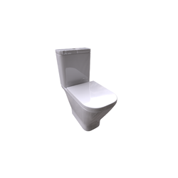 The Gap WC Pan for Low Cistern Vertical Outlet Roca The Gap