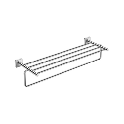 Victory Towel holder with heated towel (Can be installed using screws or adhesive) Roca Victoria