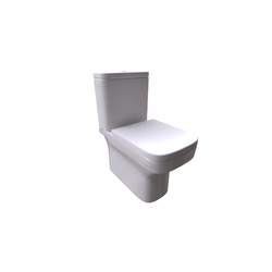 Dama Close-coupled WC Suite Dual Outlet Compact BTW Tank with cover Roca Dama