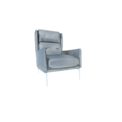 Aftereight Armchair 3033 vers. 012 Natuzzi Aftereight 3033