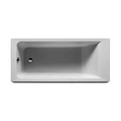 Easy rectangular acrylic bathtub Roca Easy