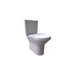 Nexo WC Pan for Low Cistern Dual Outlet Roca Nexo
