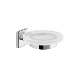 Victoria Wall-mounted soap dish (Can be installed with screws or adhesive) Roca Victoria