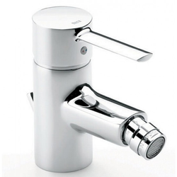 Targa Monoblock Bidet Mixer with Pop-up Waste Roca Targa
