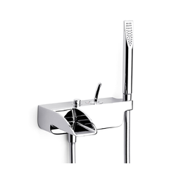 Evol Wall Mounted Bath-Shower Mixer Roca Thesis / Evol