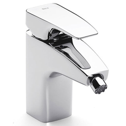 Thesis Monoblock Mixer for Bidet with Retractable Chain Roca Thesis / Evol