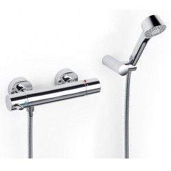Victoria -T Wall-mounted Shower Mixer Shower Kit Deluxe Roca Victoria-T