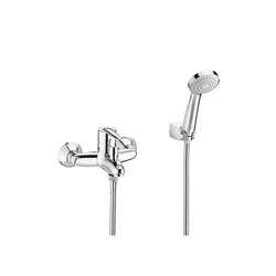 Vectra Wall-mounted Bath-Shower Mixer with Automatic Diverter Roca Vectra