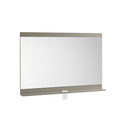Joli Mirror 1200 with shelf and brush holder glass Roca Joli