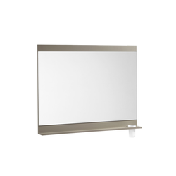 Joli Mirror 600 with shelf and brush holder glass Roca Joli