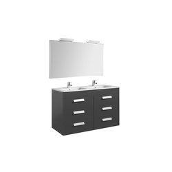 Pack Joli 1200 Wash basin+ Furniture 4 drawers+2 Appliques Delight 280500 Roca Joli