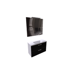 The Gap Pack Unik Furniture 1000 (washbasin white+mirror+spotlight) Roca The Gap