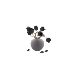 Vase tulip N271214 - Collection Generic Accessories by Tilelook | Tilelook