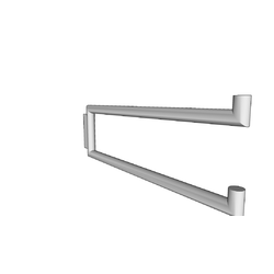 Olc AOLC0881S Towel holder Agape Olc