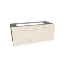 Contenitore EVO con cassetto e cassetto interno Agape Evo Contenitori