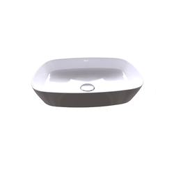 Inspira Over Countertop Basin Soft 370x500x140 Roca Inspira