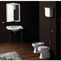 WC with floor outlet AR801 and WC or with wall outlet AR811. Simas Arcade