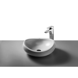 Urbi 1 Over Countertop Basin 450 WT Roca Urbi