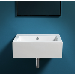 Washbasin 60 pre-punched for single  tap hole, wall hung or to be mounted on stand FZ/DUCG1 ? FZ A06. Simas Frozen
