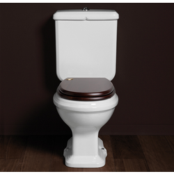 Close coupled WC with floor outlet AR821 or with wall outlet Simas Arcade
