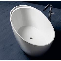 Crystal Tech bath tub pop-up waste  drainer included. Simas Bohèmien