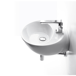 Counter top or wall hung washbasin 50 pre-punched for single tap hole. Simas Bohèmien