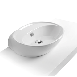 Counter top or wall hung washbasin  60 pre-punched for single tap hole. Simas Bohèmien