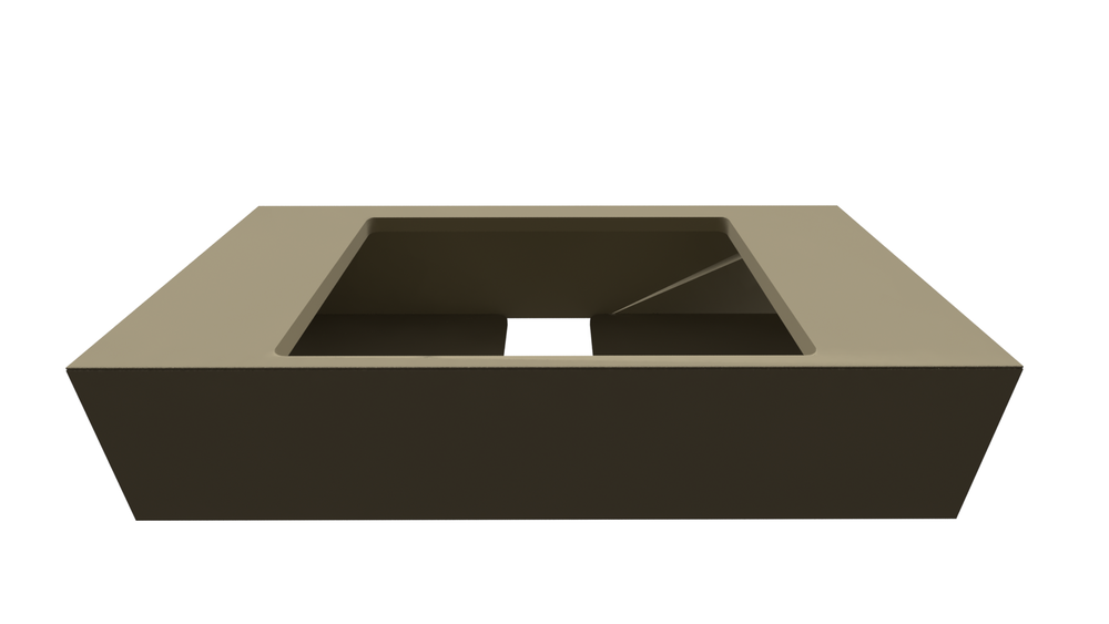 Bath furniture 1200 with top drawer-Armani / Roca colecții de la  Roca | Tilelook