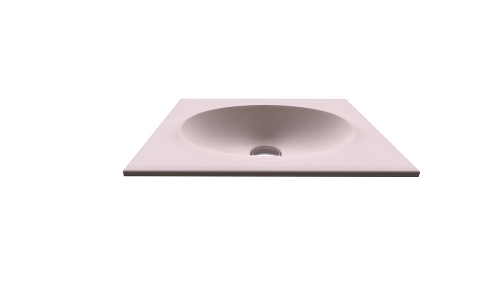 Countertop basin 65 - Armani / Roca kollekció / Roca | Tilelook