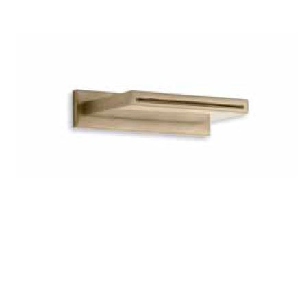 Waterfall wall spout - Collection Armani / Roca by Roca   Tilelook