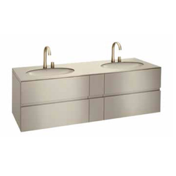 Bath furniture 1800 2 washbasins undercounter bath furniture 61 Roca Armani / Roca