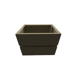 Bath furniture for washbasin 770 with 2 drawers Roca Armani / Roca
