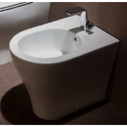 App back to wall single-hole bidet Flaminia App